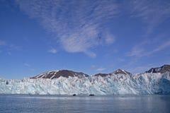 Ansichten um Monaco-Gletscher lizenzfreie stockfotos