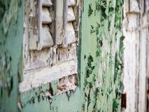 Ansichten um Scharloo - alte Fenster Stockfoto