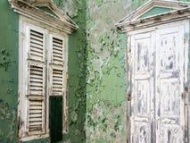 Ansichten um Scharloo - altes Fenster Stockfotos