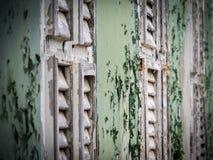 Ansichten um Scharloo - altes Fenster Stockbild