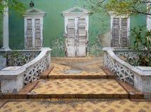 Ansichten um Scharloo - altes Haus Stockbilder