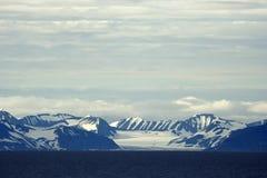Ansichten um Svalbard Lizenzfreies Stockbild