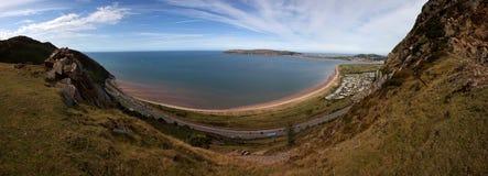 Ansichten vom Conwy Berg Stockfoto
