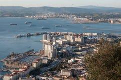 Ansichten vom Felsen von Gibraltar Lizenzfreie Stockbilder