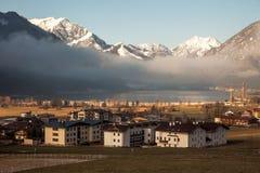 Ansichten von Achensee und von Pertisau von Maurach, Österreich Lizenzfreies Stockfoto