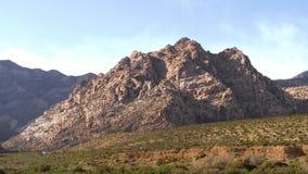 Ansichten von der roten Felsen-Schlucht, Nevada stock video