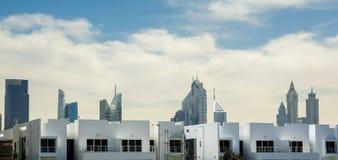 Ansichten von Dubai Stockfotos