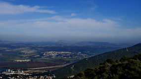 Ansichten von Haifa Stockbilder
