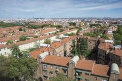 Ansichten von Madrid-Stadt, Spanien Stockbilder