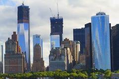 Ansichten von New York City, USA Stockfotos