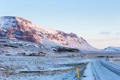 Ansichten von Ring Road bei Sonnenaufgang Lizenzfreie Stockfotografie