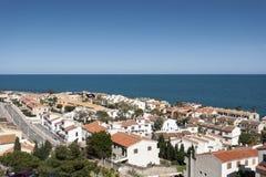 Ansichten von Santa Pola Stockbilder