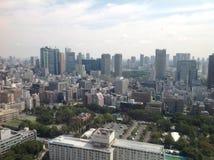 Ansichten von Tokyo von der Aussichtsplattform Lizenzfreie Stockfotos