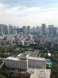 Ansichten von Tokyo von der Aussichtsplattform Stockbild