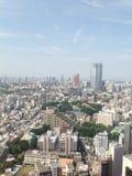 Ansichten von Tokyo von der Aussichtsplattform Lizenzfreies Stockfoto