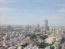 Ansichten von Tokyo von der Aussichtsplattform Stockfotografie