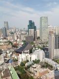 Ansichten von Tokyo von der Aussichtsplattform Lizenzfreies Stockbild