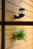 Ansichtformular ein Fenster. Lizenzfreie Stockfotografie