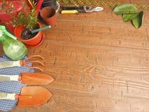 Ansichtlieblingshobbygartenbau Stockfoto