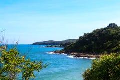 Ansichtpunkt in Insel in Thailand stockfoto