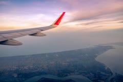 Ansichtseitenflugzeug Lizenzfreies Stockbild