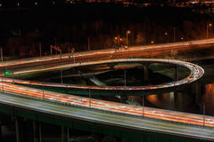 Ansichtstadtbilder szenisch in Seoul Südkorea Stockfotografie