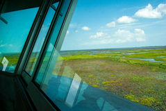 Ansichtturm lizenzfreies stockbild