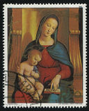 Ansidei Madonna by Raphael Stock Image