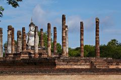 Ansient columns Royalty Free Stock Photo