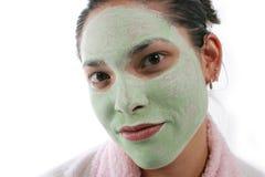ansikts- brunnsort Royaltyfri Fotografi