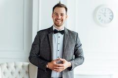 ansikts- lycklig man för uttryck Arkivfoto