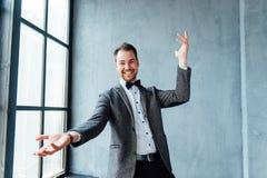 ansikts- lycklig man för uttryck Royaltyfri Foto