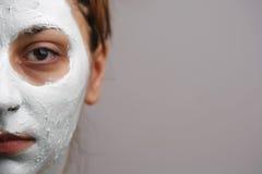 ansikts- maskering Arkivfoton