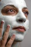 ansikts- maskering royaltyfria bilder
