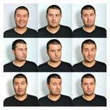 ansikts- uttryck Royaltyfri Fotografi