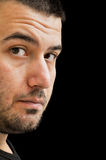 ansikts- uttryck Arkivbild