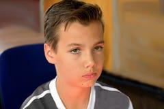 Ansiosamente mirada del adolescente Fotos de archivo