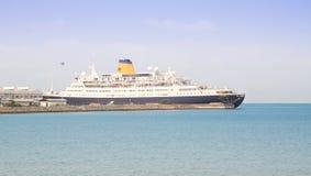 anslutad ship Arkivfoton