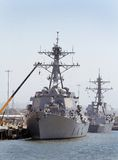 anslutade ships Royaltyfri Foto
