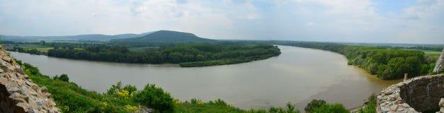 Anslutning av floder Fotografering för Bildbyråer