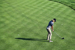 Anslutning för yrkesmässig golf för damer Royaltyfria Bilder