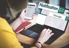 Anslutning sociala knyta kontakt Concep för globala kommunikationer för mejl Arkivfoton