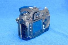 Anslutningsportar av den gamla DSLR-kamerakroppen Royaltyfri Bild