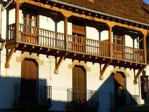 Anso, Huesca (Spanje) Royalty-vrije Stock Foto
