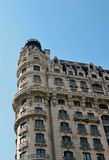 Ansonia building. New York Landmark against the sky Stock Image