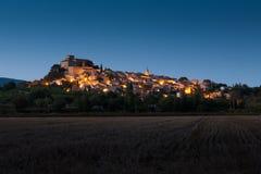 Ansouis村庄在Luberon,法国 库存照片