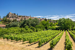 Ansouis in the Luberon Royalty Free Stock Photo