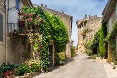 Ansouis w Luberon Zdjęcie Royalty Free