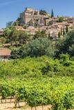 Ansouis w Luberon Fotografia Stock