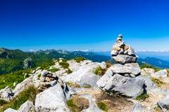 Anspornungsgebirgslandschaftsansicht in Tatras Lizenzfreies Stockfoto